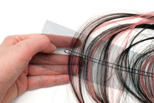 Folding self-made weft