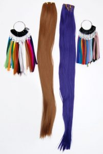 wefts and color rings