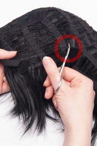 splicing wigs step 02