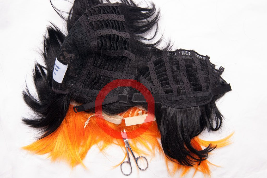 splicing wigs step 04