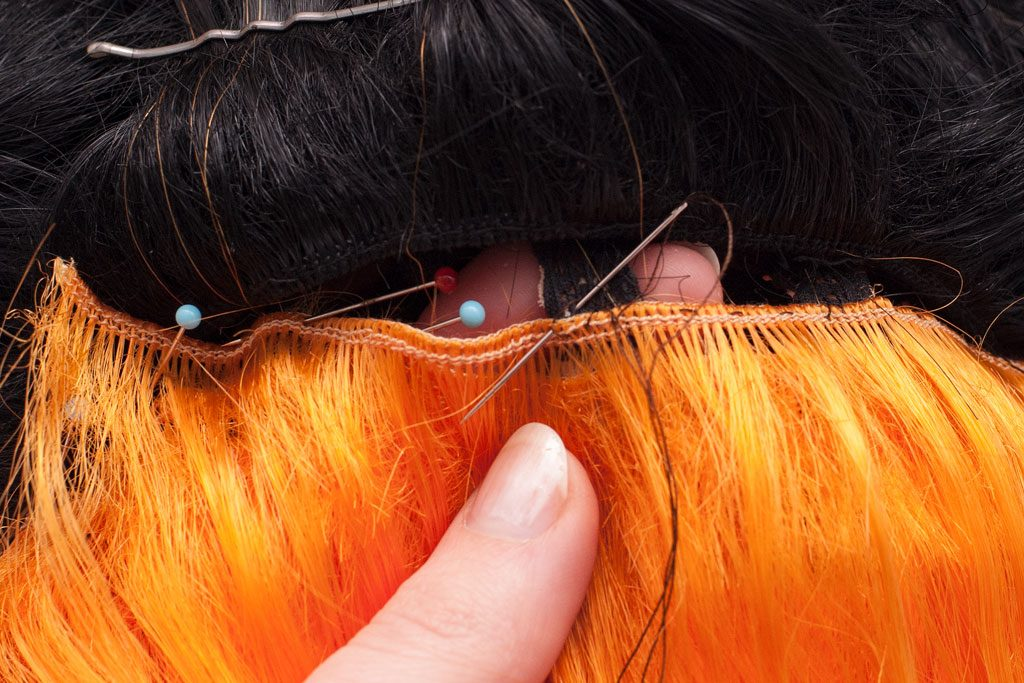splicing wigs step 09