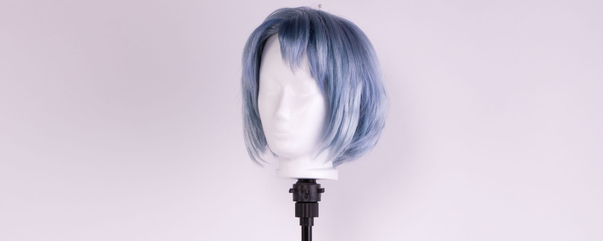 foam head on a wig stand