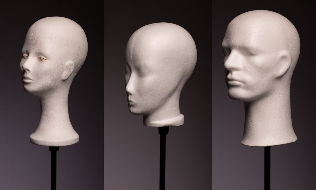 3 foam heads