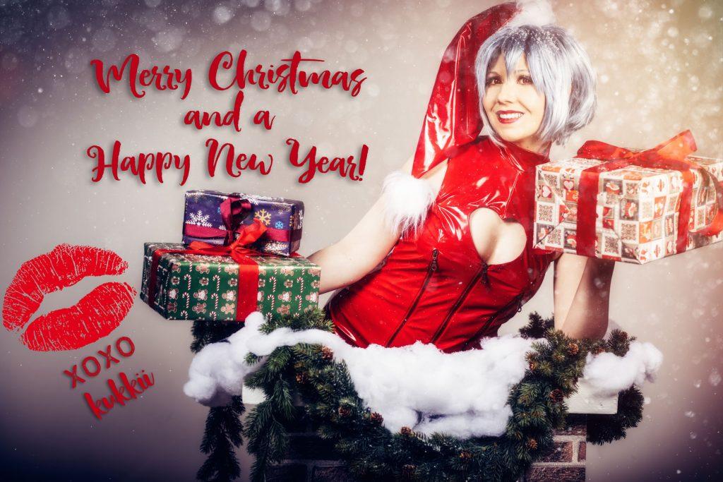 Merry Christmas! Rei Ayanami (Neon Genesis Evangelion) Cosplay