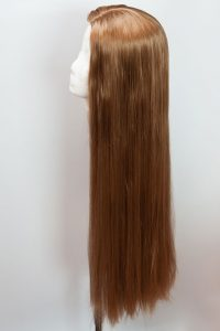 thick, non-layered base wig