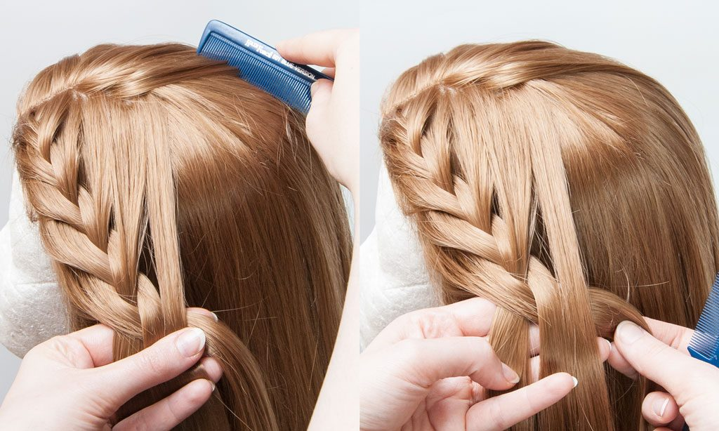 braid and add new hair