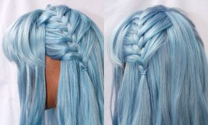Braided wig for Angelique