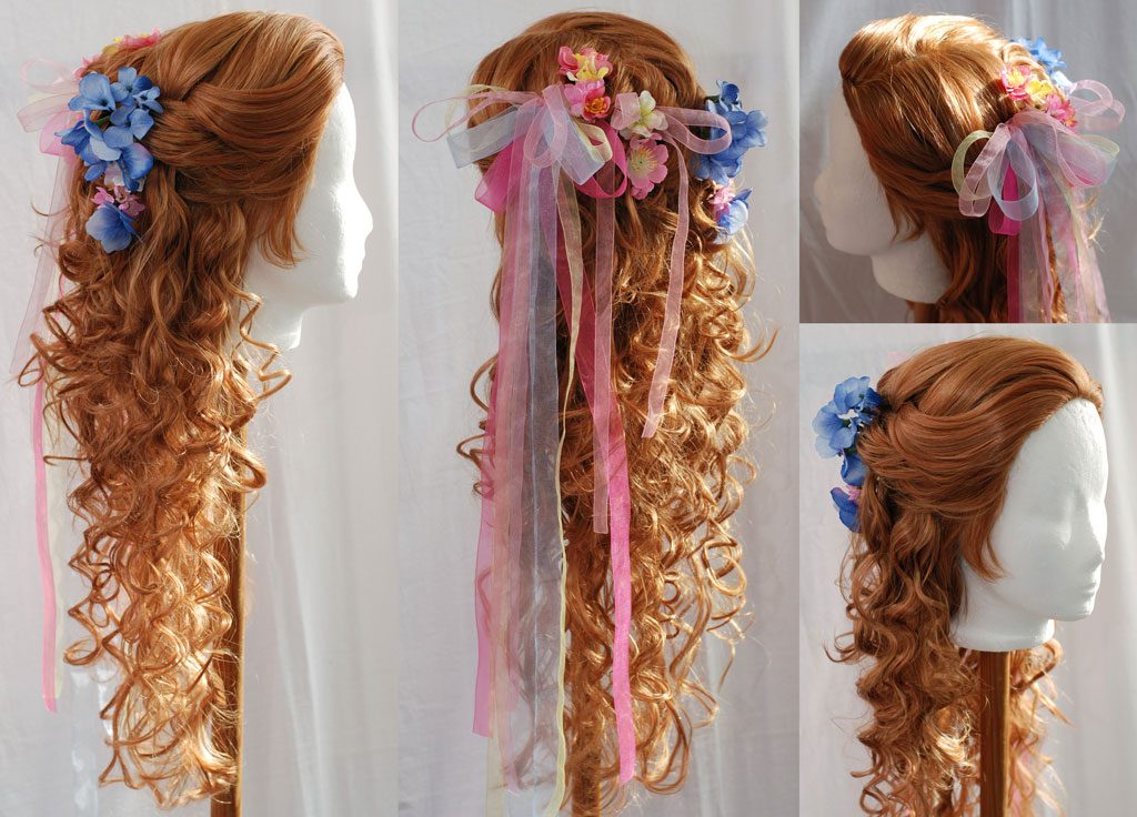 Braided wig for Giselle (Enchanted)