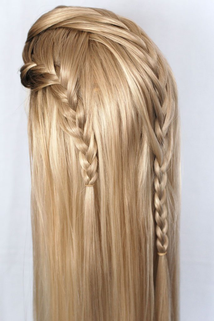 Braided wig for Haldir (Lord of the Rings)