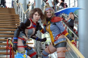 warrior yuna and rikku (ff x-2)