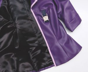 pleather jacket with lining