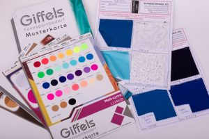 spandex fabric swatches