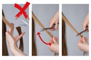 wig cutting technique