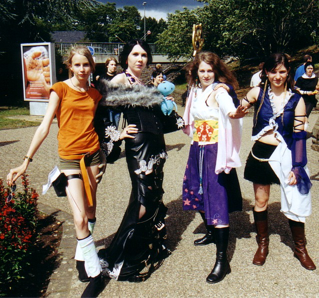 final fantasy x cosplay group