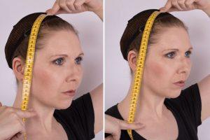 chin / shoulder length