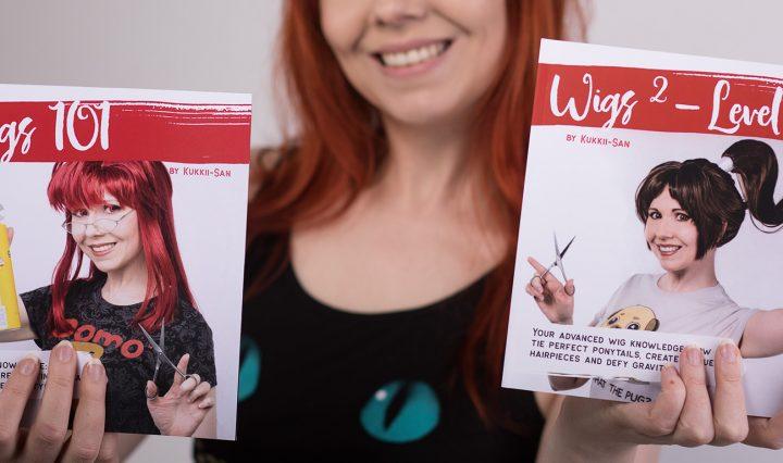 kukkii with wig books