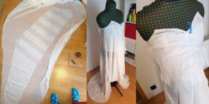 draped belldandy dress