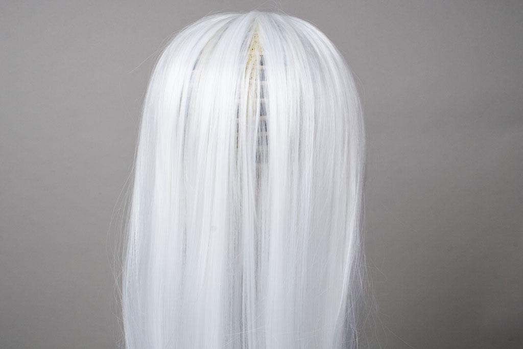 thin white wig