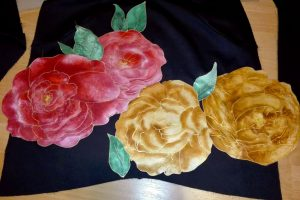 pinned applique