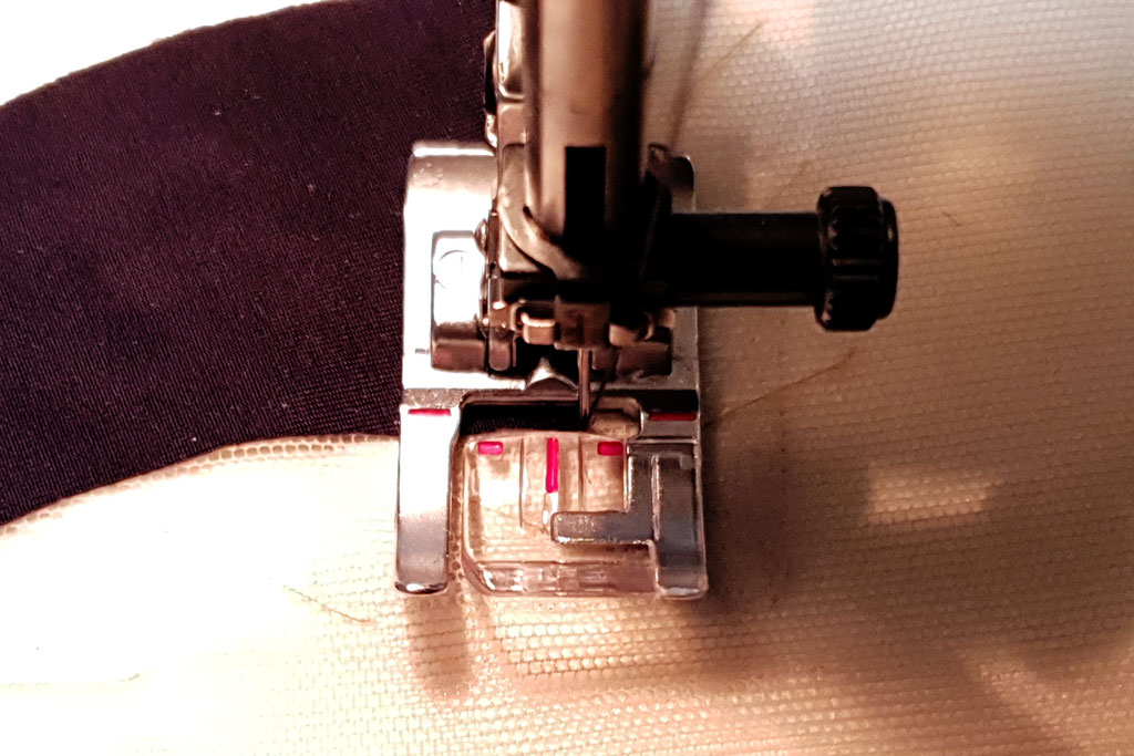 stitching corner