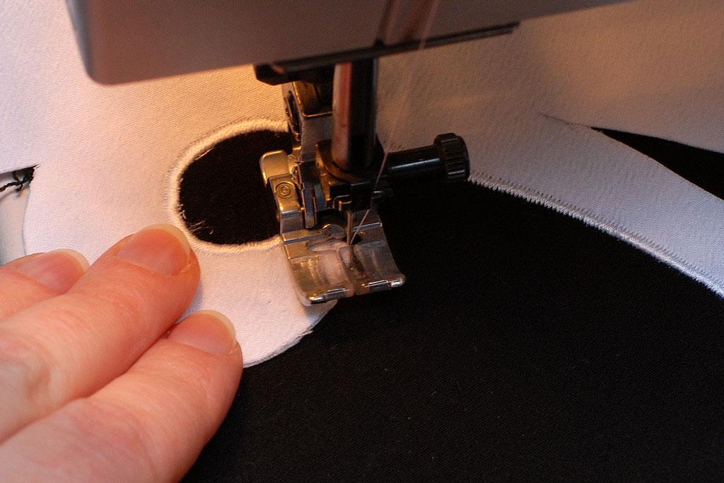 stitching curve