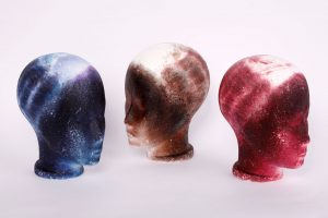 stained wig heads