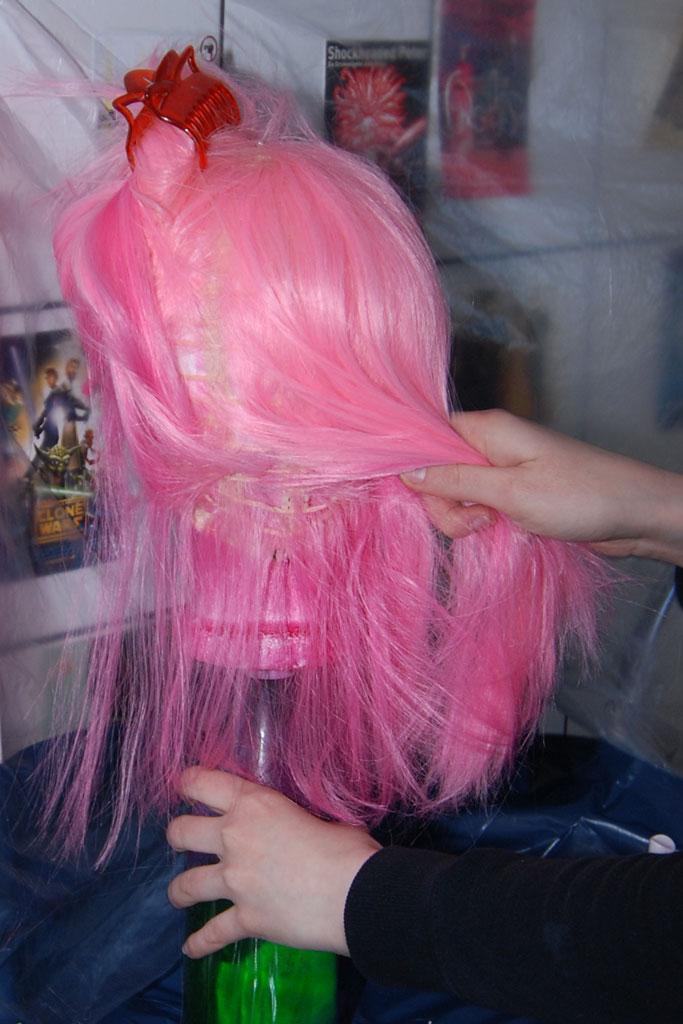 capas de peluca