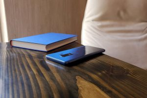 book and phone silent mode