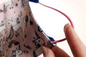 insert elastic band