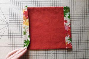 folded seam allowance