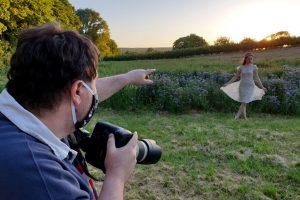 social distancing photoshoot