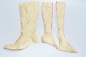 duct tape boot pattern