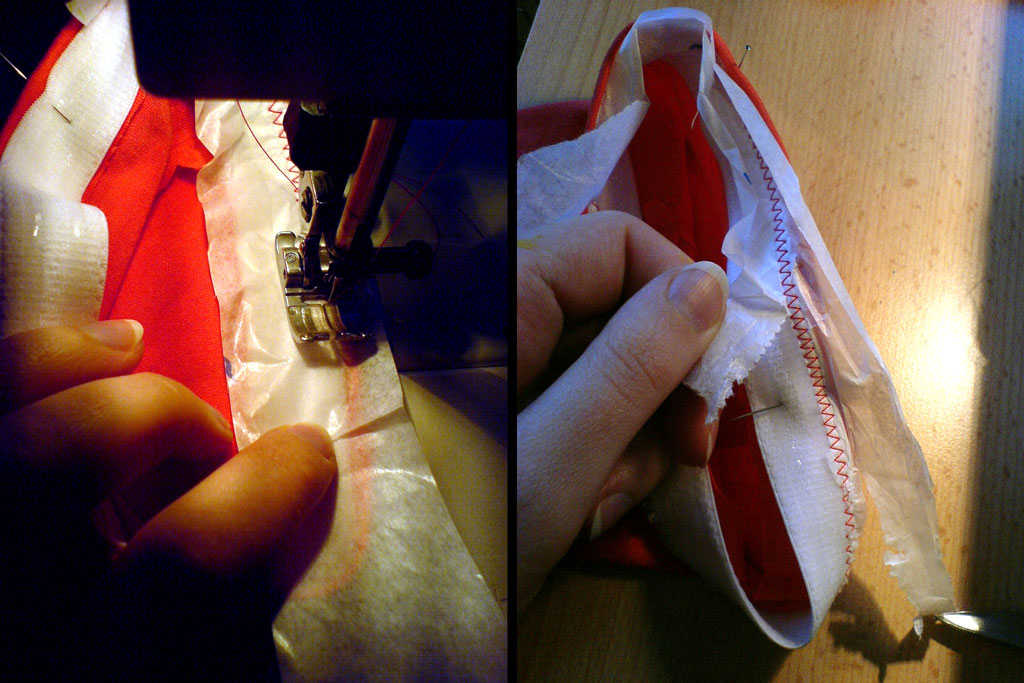 sewing on silicone elastic
