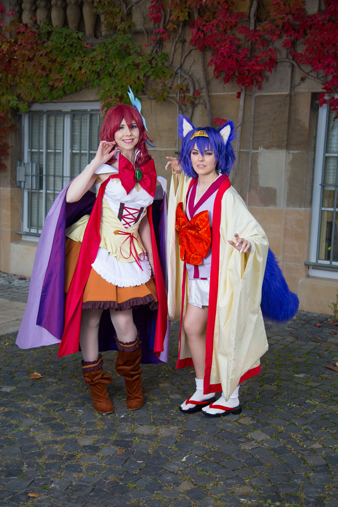 steph and izuna cosplay
