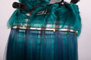 pinned weft