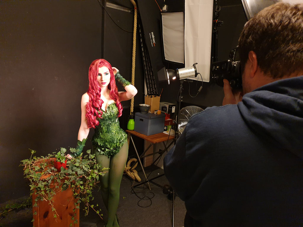 poison ivy photoshoot