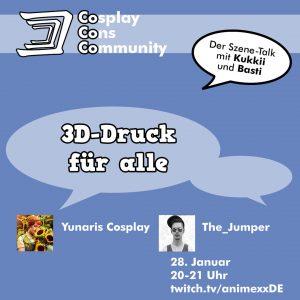 CoCoCo Announce 3D Print