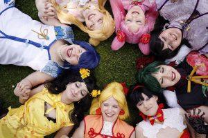 Sailor Moon Cosplay Group