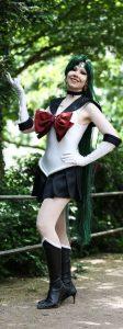 sailor pluto cosplay