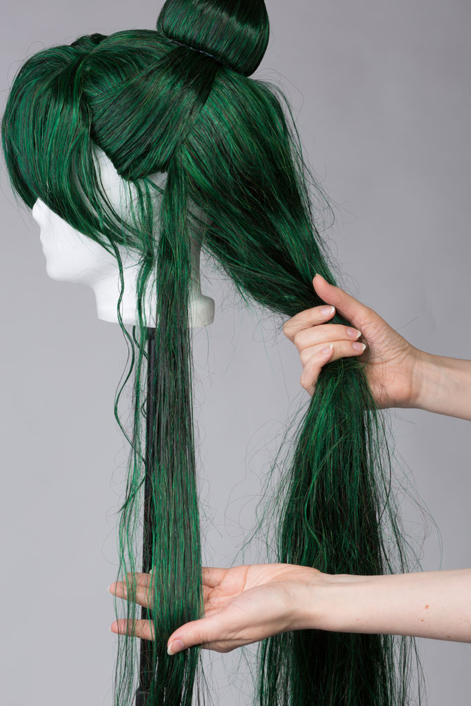 tangled wig