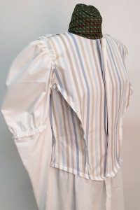 mockup on dress form